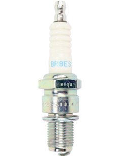 NGK BR8ES spark plug with removable terminal