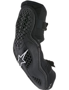 Sequence Offroad Elbow Protector Black/Red S/M Alpinestars 6502518-13-Sm