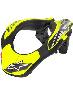 Youth Neck Support Black/Yellow One Size Alpinestars 6540118-155-Os