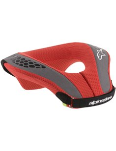 Youth Sequence Neck Support Red/Black L/Xl Alpinestars 6741018-13-Lxl