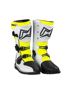 Bottes Trial MOTS ZONA2 blanc taille 46