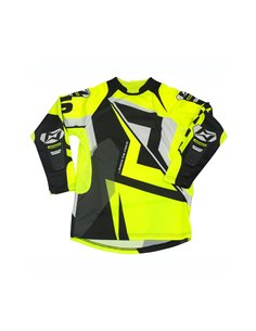 Maillot Trial MOTS RIDER3 Junior Fluo S/ 6 années