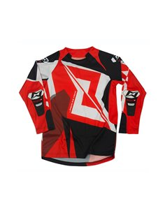 Maillot Trial MOTS RIDER3 Junior rouge S/ 6 années