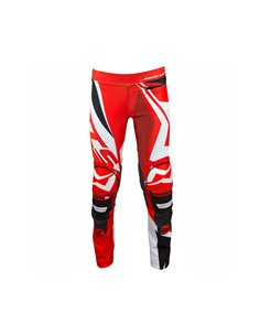 Pants trials MOTS RIDER3 Junior red S/6 years