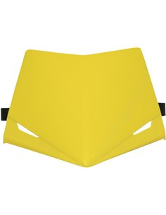 Stealth Headlight Top for High End Rm-Yellow UFO-Plast PF01713-102