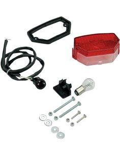 REAR REAR LIGHT FOR PLATE SUPPORT Taillight For Front cover number holder UFO-Plast FA01307
