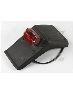 License plate holder for Taillight and license plate holder without indicators For Enduro Rear fenders UFO-Plast KT03039-001