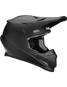 Capacete motocross THOR Sector Black Md 0110-5570