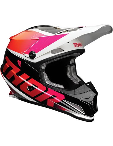 MT6216R Mots GO2 ON red Trial Helmet
