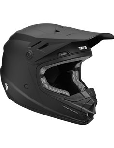 THOR Helmet Sector Youth Black Md 0111-1163