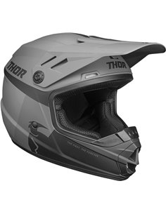 THOR Helmet Youth Sector Racer Bk/Ch Md 0111-1345