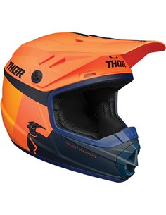 THOR Helmet Youth Sector Racer Or/Mn Lg 0111-1349