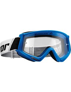 THOR Goggle Combat Youth Bl/Wh 2601-2358