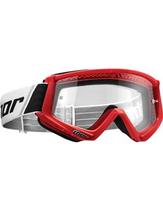 THOR Goggle Combat Youth Rd/Bk 2601-2359