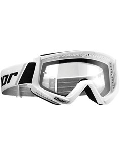THOR Goggle Combat Youth Wh/Bk 2601-2361