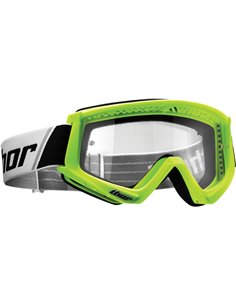 THOR Goggle Combat Youth Flo Grn 2601-2362