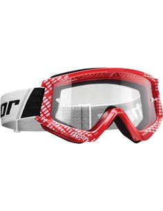 THOR Goggle Combat Youth Cap Rd/Wh 2601-2374