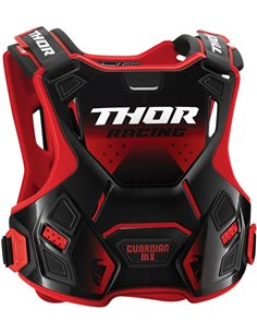 THOR Youth Guardian Mx Roost Deflector Red/Black 2Xs/Xs 2701-0856