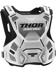 THOR Youth Guardian Mx Roost Deflector White/Black 2Xs/Xs 2701-0858