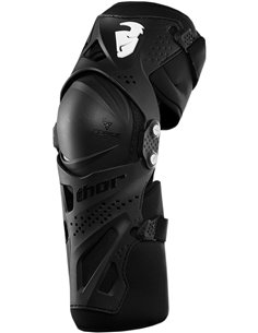 THOR Youth Force Xp Knee Guard Black One Size 2704-0431