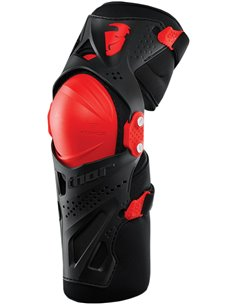 THOR Youth Force Xp Knee Guard Red One Size 2704-0432