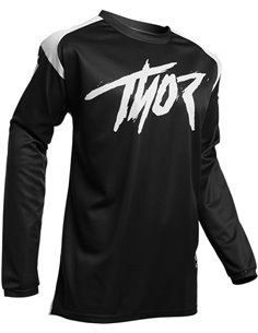 Maillot Motocross Thor S20 Sector Link Bk Md 2910-5356