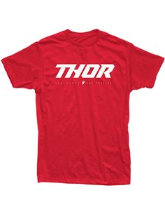 THOR Tee S20 Loud 2 Red Sm 3030-18335