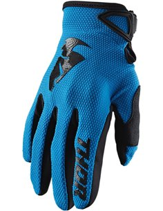 Guantes motocross Thor S20 Sector Blue Sm 3330-5860