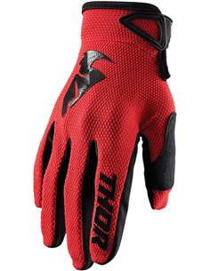 THOR Glove S20 Sector Red Sm 3330-5872