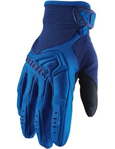 THOR Glove S20 Youth Spectrum Blue Md 3332-1464