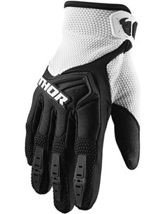 THOR Glove S20 Youth Spectrum Bk/Wh Xs 3332-1472