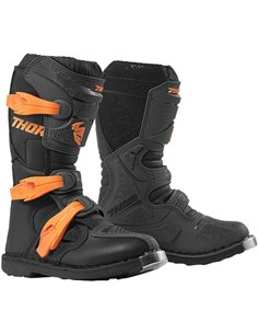 THOR Boot Youth Blitz Xp Ch/Or 1 3411-0510