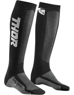 THOR niño(a)Mx Cool S9Y Calcetines motocross Negro/Charcoal 1-6 3431-0429
