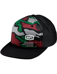 100 % Hat Youth Trooper Truc Camo 20082-064-00