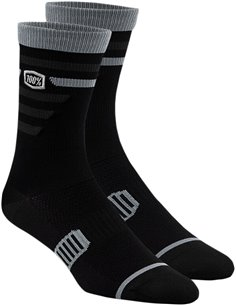 Calcetines 100 % Advcate Negro/Gris Lg/Xl 24017-057-18
