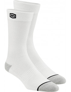 Calcetines 100 % Solid Azul/Blanco Sm/Md 24021-000-17