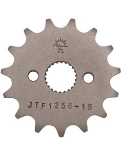 Front drive sprocket JTF1256.15 15 teeth 420 PITCH NATURAL STEEL