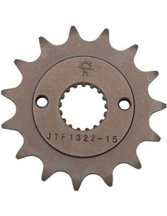 Front drive sprocket JTF1322.15 15 teeth 520 PITCH NATURAL STEEL