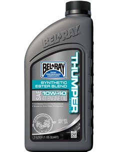 Bel-Ray Huile Thumper Racing Ester Blend Synthétique 4T 10W40 1 L. 99520-B1LW