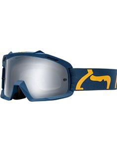Fox Airspace Race Motocross Kids Goggles navy/yellow OUTLET