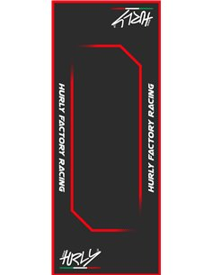 MAT HURLY 53X100 RED HURLY PARTS HC53100-RED