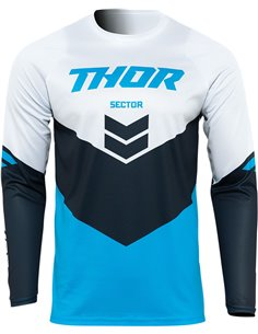 JERSEY Thor-MX 2022 SECTOR CHEV BL/MN 2X 2910-6470