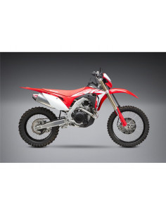 Yoshimura RS-4 complete exhaust line, stainless steel, aluminum silencer, carbon cover, Honda CRF450X