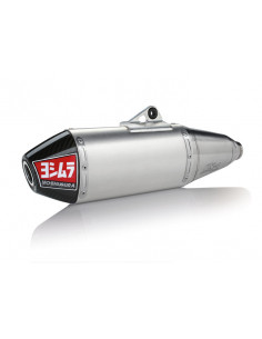 Complete Yoshimura Signature RS-4 exhaust line, stainless steel, aluminum silencer and carbon cover, RM-Z450